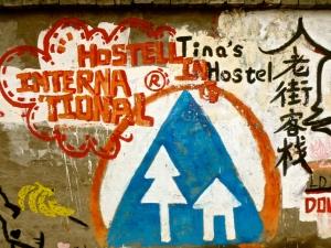 Tina's hostel!