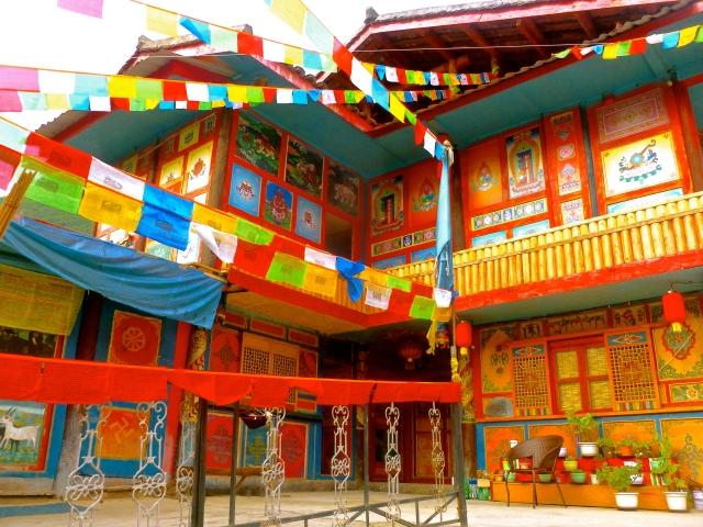 The Tibetan hostel