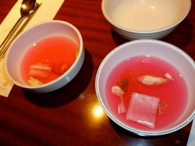pink soup