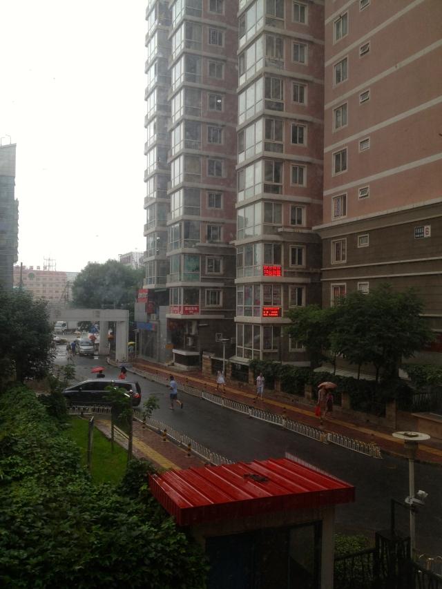 Rainy Huaqingjiayuan