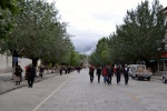 walking to the Potala Palace