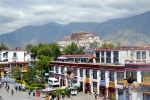 view of the Potala from Norbulingka