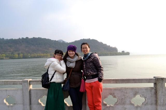 Christmas Eve trip to Dongqian lake